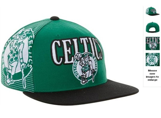 Boston Celtics NBA Snapback Hat 60D07