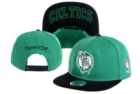 Boston Celtics NBA Snapback Hat 60D10