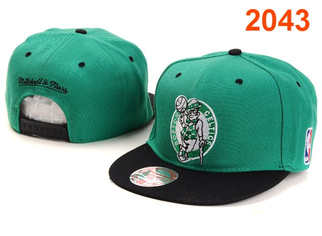 Boston Celtics NBA Snapback Hat PT025