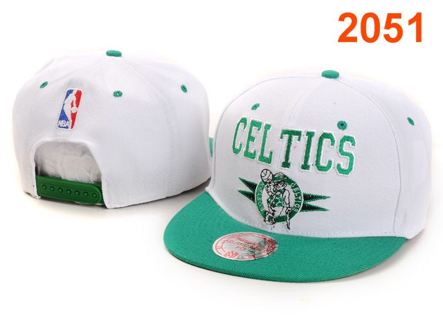 Boston Celtics NBA Snapback Hat PT033