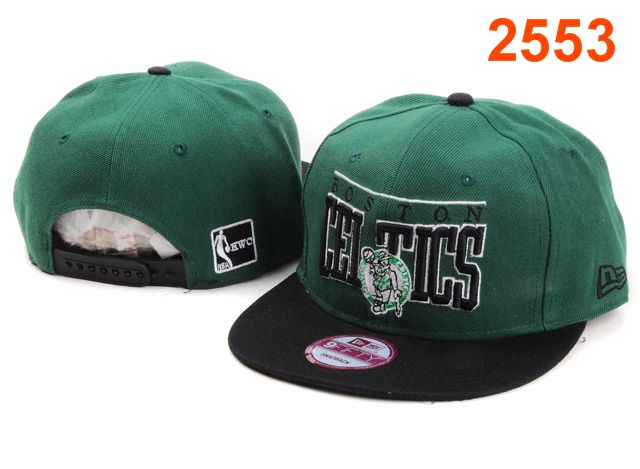 Boston Celtics NBA Snapback Hat PT076