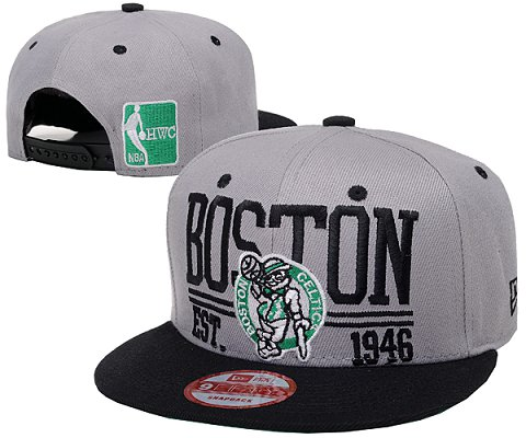 Boston Celtics NBA Snapback Hat SD02
