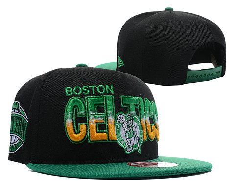 Boston Celtics NBA Snapback Hat SD06
