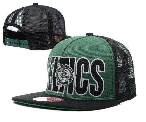 Boston Celtics NBA Snapback Hat SD10