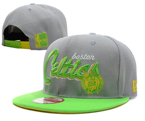 Boston Celtics NBA Snapback Hat SD11