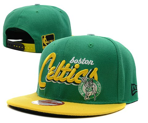 Boston Celtics NBA Snapback Hat SD12