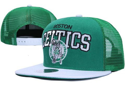 Boston Celtics NBA Snapback Hat XDF027