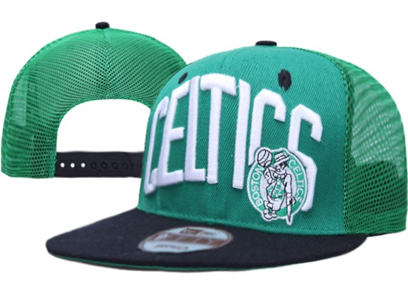 Boston Celtics NBA Snapback Hat XDF039