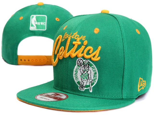 Boston Celtics NBA Snapback Hat XDF049