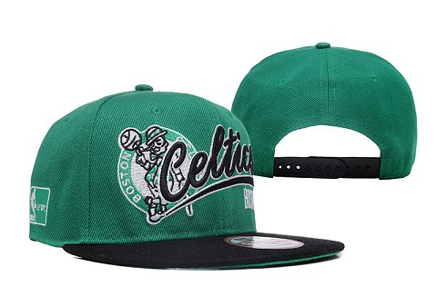 Boston Celtics NBA Snapback Hat XDF090