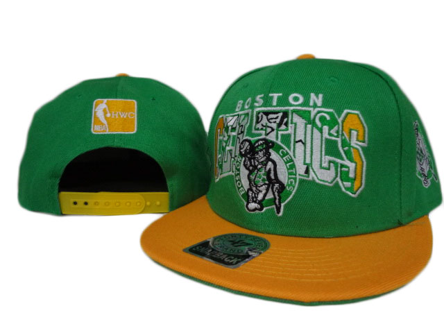 Boston Celtics NBA Snapback Hat ZY1