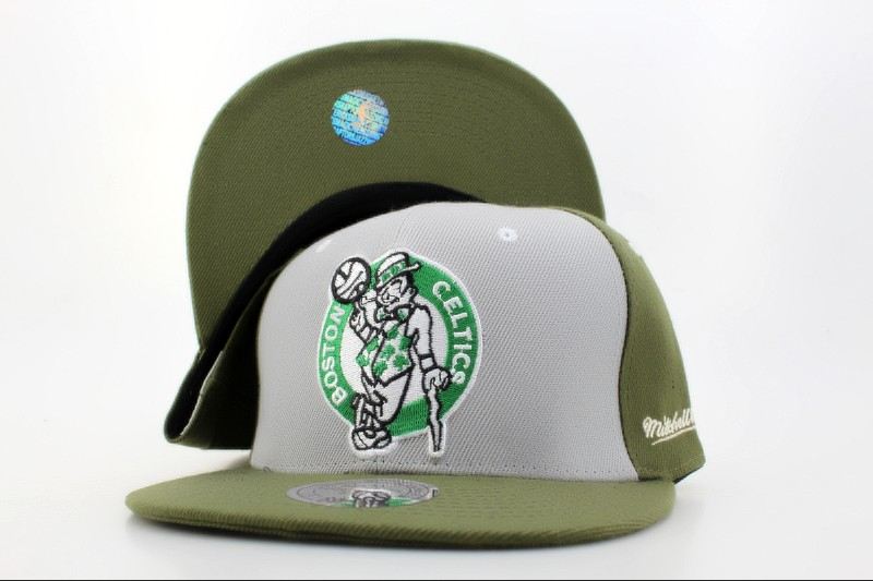 Boston Celtics Snapback Hat QH 101
