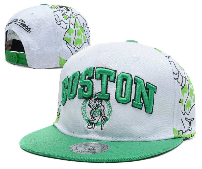 Boston Celtics Snapback Hat DF1 0512