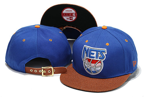 Brooklyn Nets Blue Snapback Hat YS