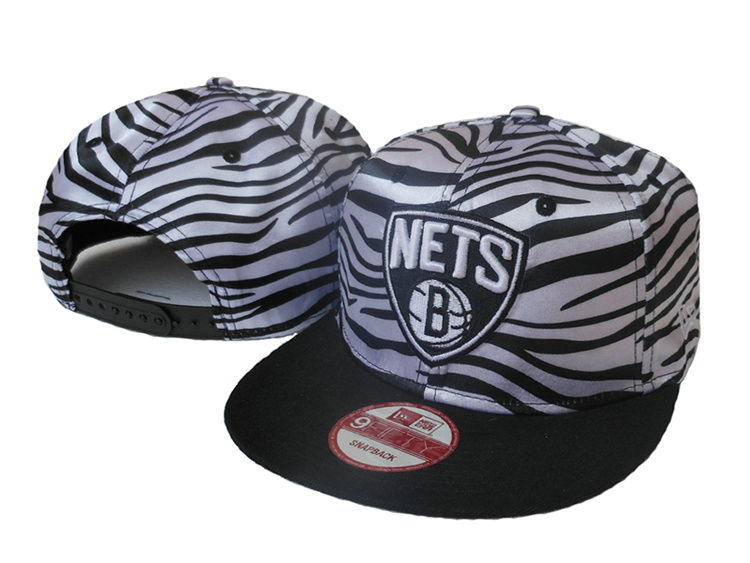 Brooklyn Nets Snapback Hat SJ 1