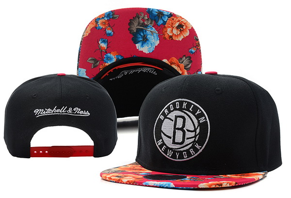 Brooklyn Nets Snapback Hat XDF 1