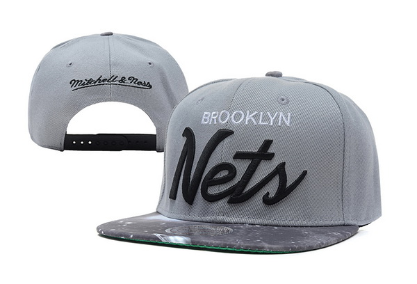 Brooklyn Nets Snapback Hat XDF 110