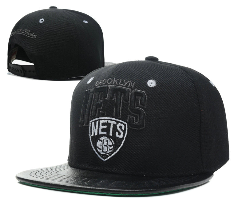 Brooklyn Nets Snapback Hat SD
