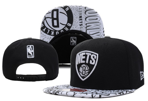 Brooklyn Nets Snapback Hat XDF 7