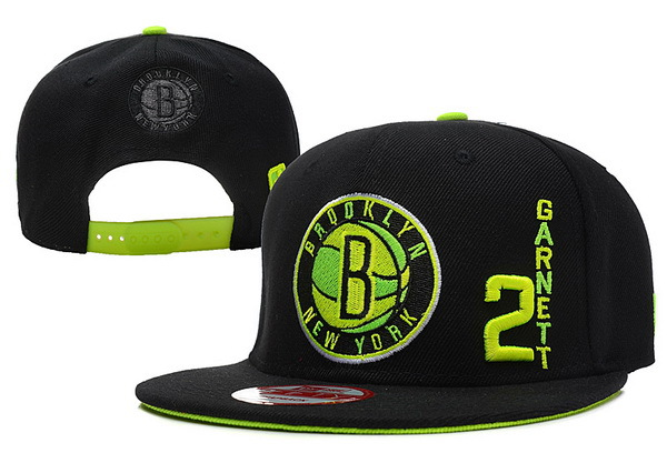 Brooklyn Nets Snapback Hat XDF 9
