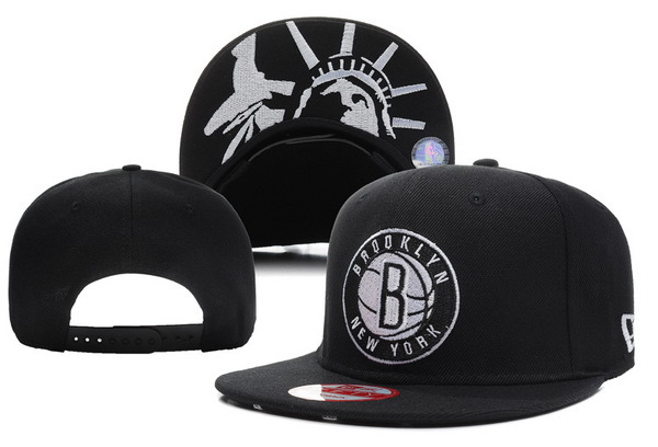 Brooklyn Nets Snapback Hat XDF 11