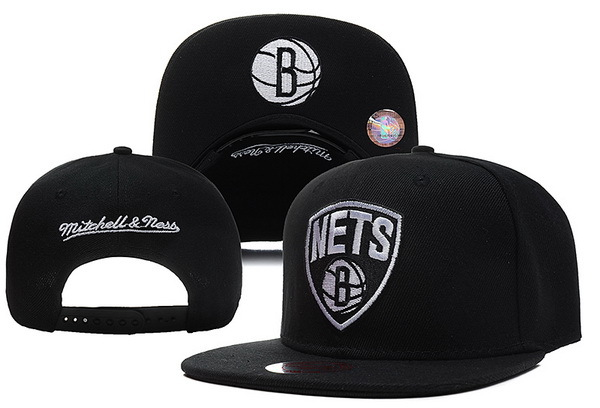 Brooklyn Nets Snapback Hat XDF 12