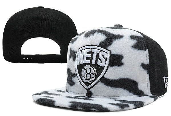 Brooklyn Nets Snapback Hat XDF 13
