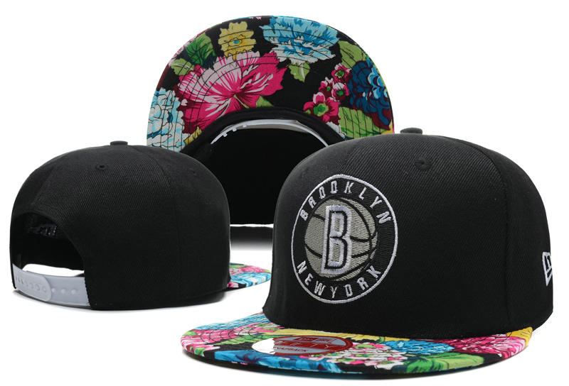 Brooklyn Nets Snapback Hat DF 1 0613