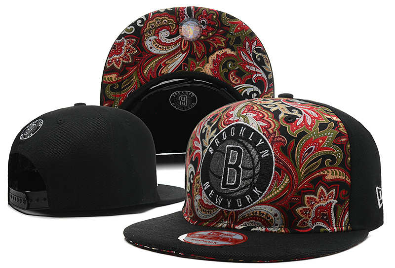 Brooklyn Nets Snapback Hat DF 0613