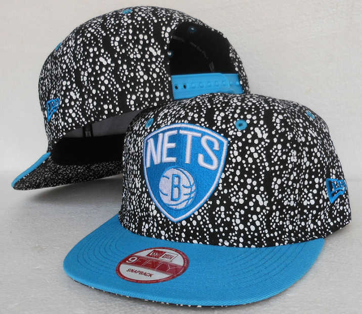 Brooklyn Nets Snapback Hat SJ 1 0613