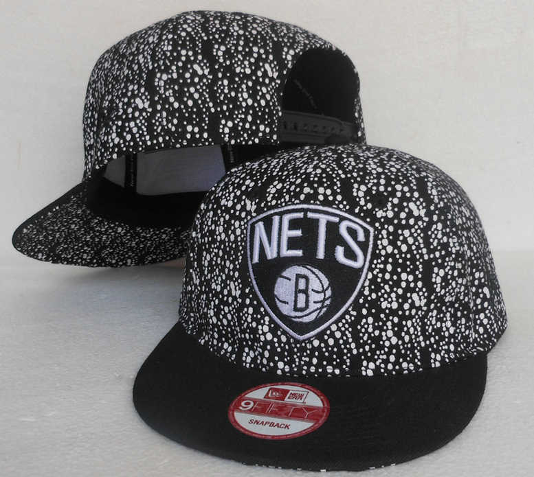 Brooklyn Nets Snapback Hat SJ 0613