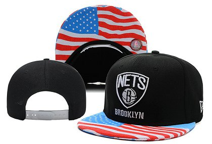 Brooklyn Nets Snapback Hat XDF 14082 01
