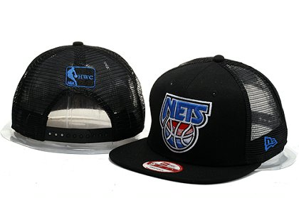 Brooklyn Nets Snapback Hat YS B 140802 06