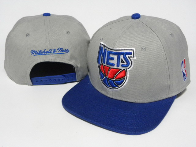 Brooklyn Nets Mitchell&Ness Snapback Hat DD 0008