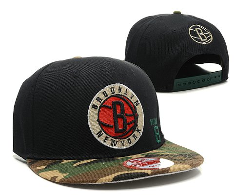 Brooklyn Nets NBA Snapback Hat SD4