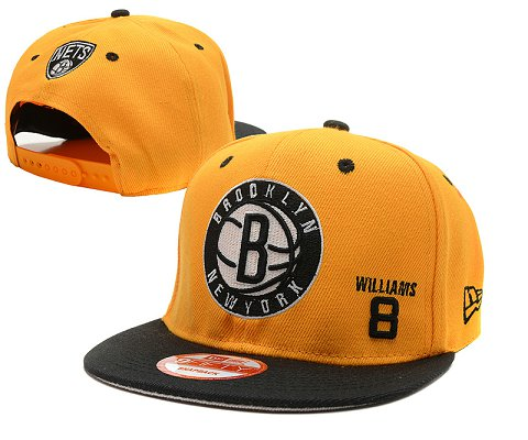 Brooklyn Nets NBA Snapback Hat SD5