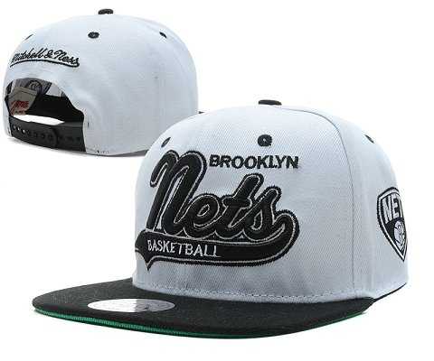Brooklyn Nets NBA Snapback Hat SD6