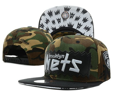 Brooklyn Nets NBA Snapback Hat SD7