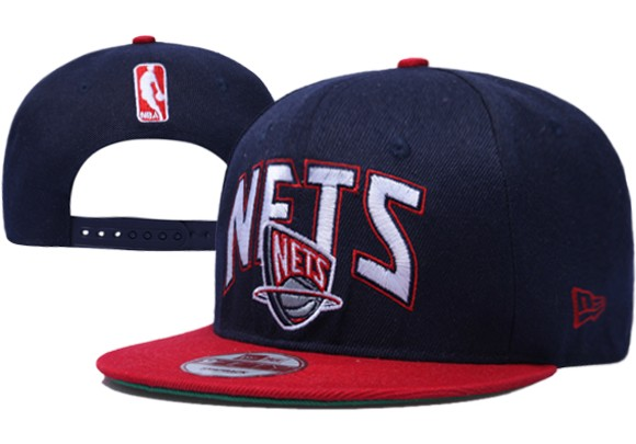 Brooklyn Nets NBA Snapback Hat XDF052