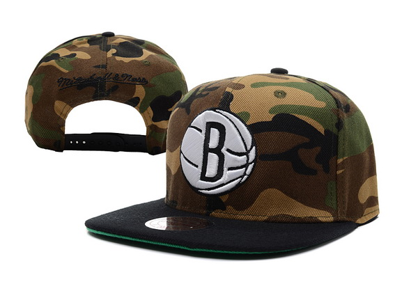 Brooklyn Nets NBA Snapback Hat XDF162