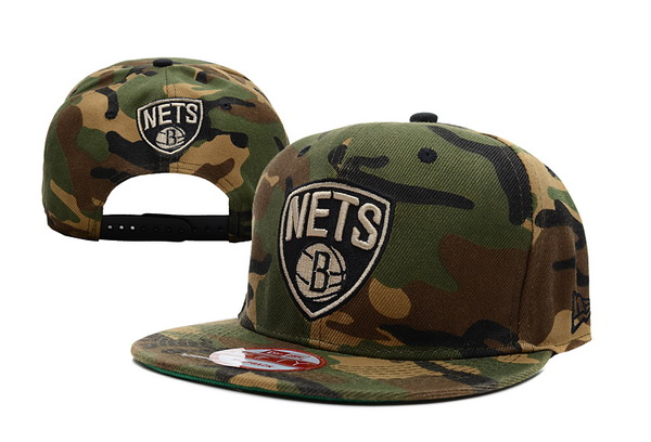 Brooklyn Nets NBA Snapback Hat XDF173
