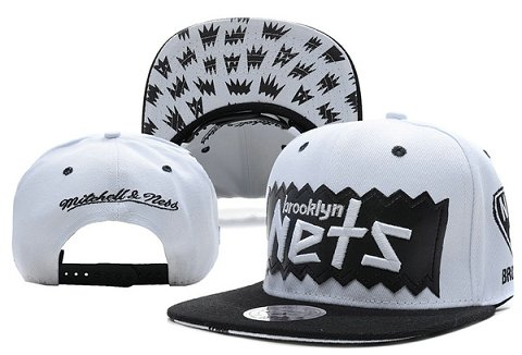 Brooklyn Nets NBA Snapback Hat XDF192