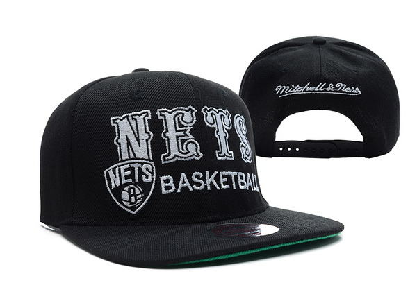 Brooklyn Nets NBA Snapback Hat XDF194
