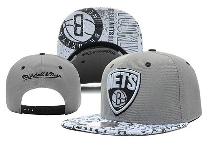 Brooklyn Nets NBA Snapback Hat XDF-Q