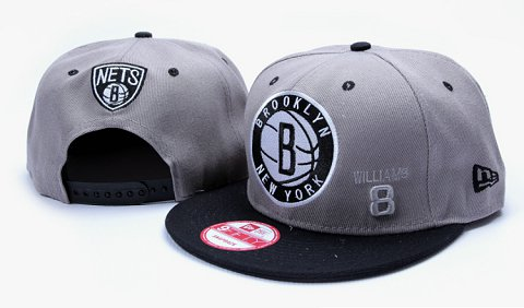 Brooklyn Nets NBA Snapback Hat YS117