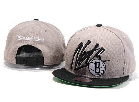 Brooklyn Nets NBA Snapback Hat YS192