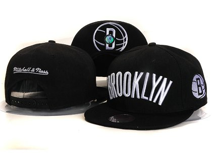 Brooklyn Nets New Snapback Hat YS E83