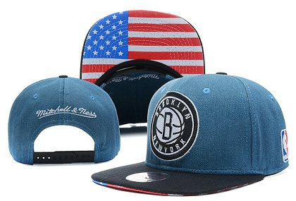 Brooklyn Nets Snapback Hat X-DF