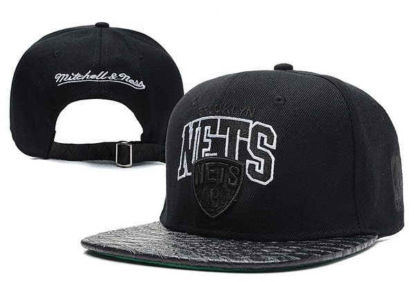 Brooklyn Nets Snapback Hat XDF 2