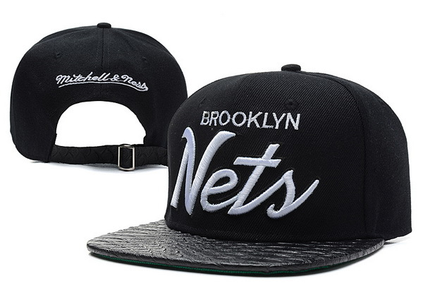 Brooklyn Nets Snapback Hat XDF 3